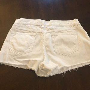 Old Navy Shorts - Old Navy cutoff white shorts size 6